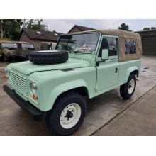 Fully Refurbished Ex Military RHD Land Rover Defender 90's For Sale