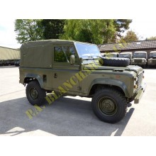As Released Ex Military Land Rover Defender 90 RHD Soft Top
