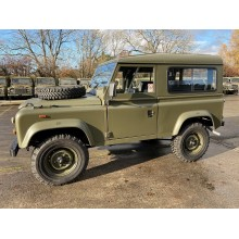 Refurbished RHD Ex Military Land Rover Defender 90