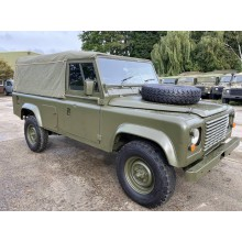 As Released Ex Military Land Rover Defender 110 RHD Soft Top