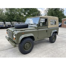 Ex Military Defender 90 RHD Soft Top For Sale