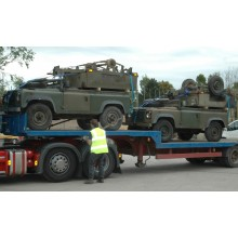 Land Rover Defender 90's Plus Sankey Trailers