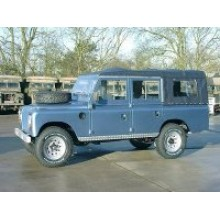 ex military Landrover, soft-top conversion, 5 door Series III