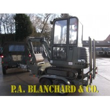 JCB 801.4 Mini Digger & Trailer