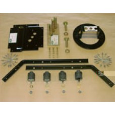 Defender spare wheel mounting kit