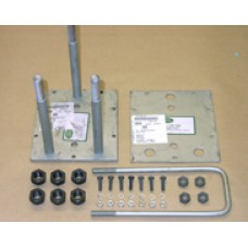 Rear door spare wheel carrier kit