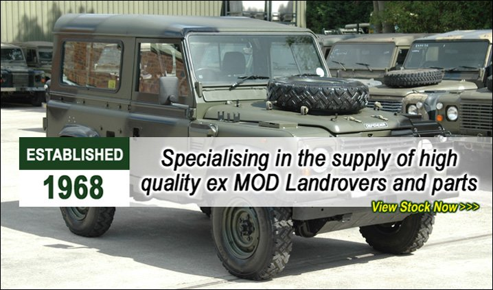 Specialising in high quality ex MOD land rover parts